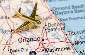 Plane Over Central Florida Map